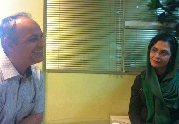 بهاره هدایت و احمد زیدآبادی در مرخصی از زندان