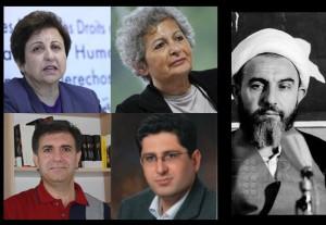 مهرانگیز کار، شیرین عبادی، نقی محمودی و حسین رئیسی از آیت الله محمدی گیلانی می گویند