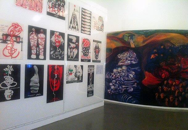 نگاهی انتقادی به نمایشگاه «تاریخ تدوین نشده» در پاریس/پانته آ بهرامی