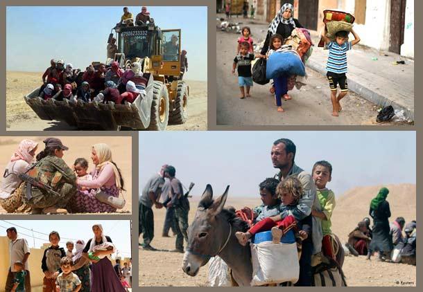فاجعه انسانی در خاورمیانه