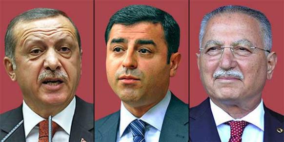کاندیداهای رقیب در انتخابات