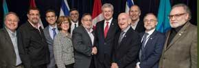 هارپر از طرف سازمان یهودیان کانادا کاندیدای جایزه صلح نوبل شد