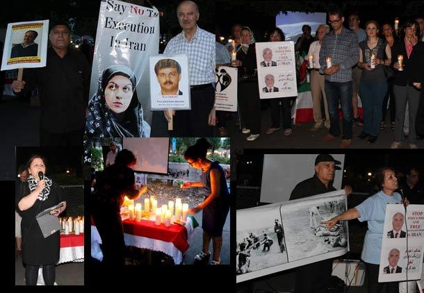 اول سپتامبر، روز همبستگی با زندانیان سیاسی ایران، در تورنتو گرامی داشته شد
