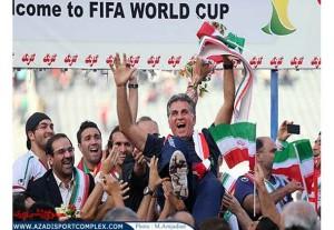 صعود به جام جهانی و تقدیر از کی روش