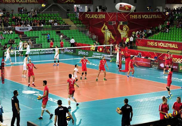 پیروزی تیم ملی والیبال ایران بر تیم آرژانتین