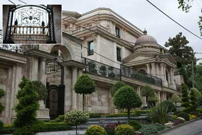 خانه انصاری در شمال تهران