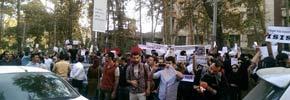 بازداشت دو تن از شرکت کنندگان در تجمع حمایت از کوبانی در تهران
