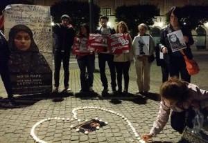 اعتراض مقابل وزارت امور خارجه سوئد