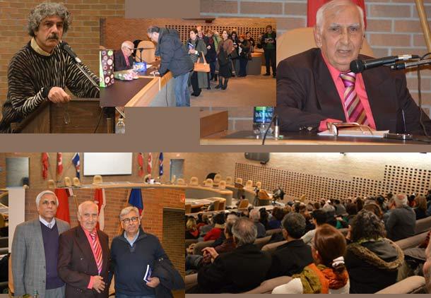 سخنرانی محمدتقی اسماعیلی (میرزاتقی خان) در کانون کتاب تورنتو