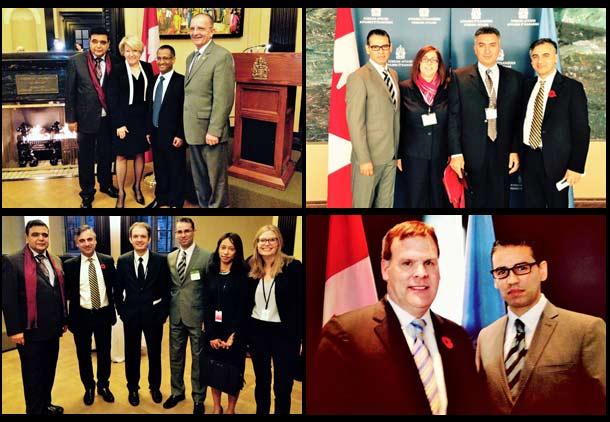 بررسی پرونده حقوق بشر ایران در اتاوا با حضور وزیر امور خارجه کانادا، احمد شهید و پیام اخوان