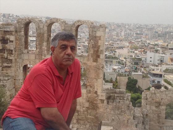 عباس شکری در آتن