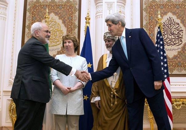 جان کری، کاترین اشتون و جواد ظریف در دور مذاکرات جدید