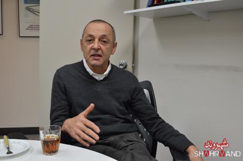 حمید شوکت در دفتر شهروند