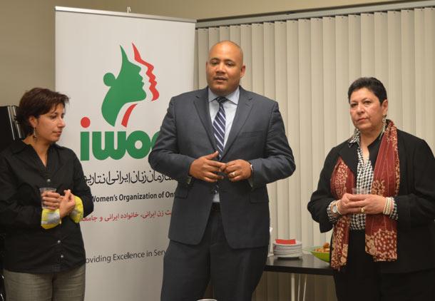 اهدای بودجه برای پروژه ی آموزشی به سازمان زنان ایرانی انتاریو