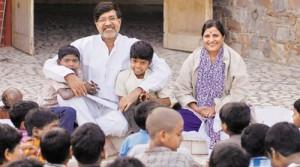 در کنار کودکان هند