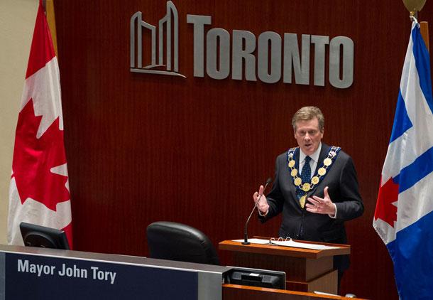 ملاقات نخست وزیر انتاریو با شهردار جدید تورنتو