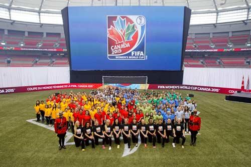 قرعه کشی جام جهانی فوتبال زنان انجام شد