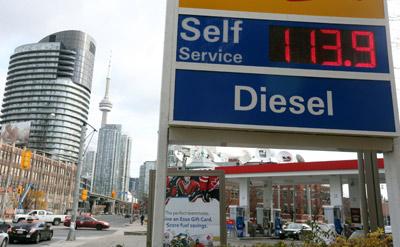 تاثیرات کاهش قیمت نفت بر اقتصاد کانادا