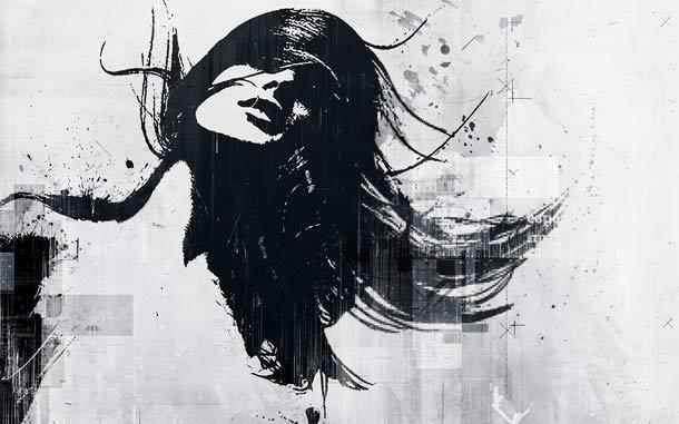 آن زن سیاه گیسو/  محمدرضا عینی