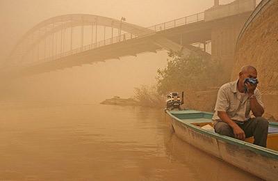 آلودگی استان خوزستان سالانه بیش از ۲۲ هزار نفر را راهی بیمارستان میکند