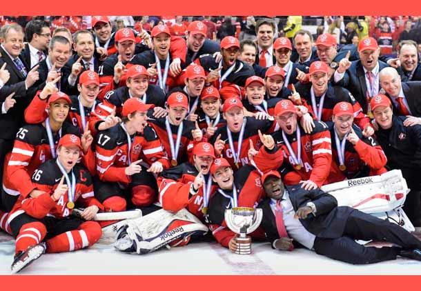 تیم ملی جوانان هاکی کانادا با پیروزی بر روسیه، قهرمان جهان شد