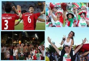 ایرانیهای استرالیا از تیم ملی استقبال شایسته ای کردند