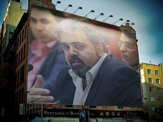 عکس فوتوشاپی از سایت طرفداران محسن پهلوان