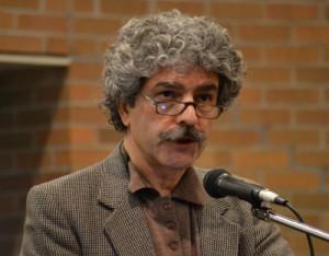 سعید حریری از کانون کتاب تورنتو گرداننده جلسه