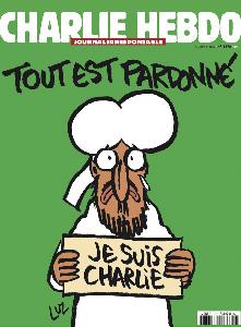 روی جلد شارلی ابدو پس از حمله تروریستی