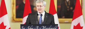 برگزاری دویستمین سالگرد تولد سرجان . ا . مک دونالد، اولین نخست وزیر کانادا