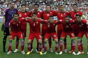 تیم فوتبال ایران در مقابل قطر