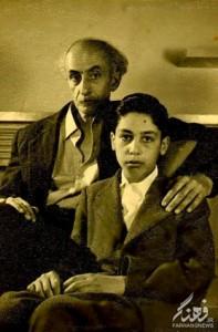 نیما و پسرش شراگیم