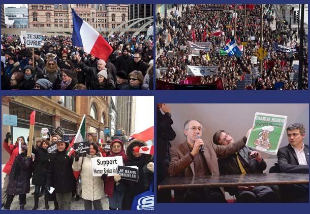 شرکت سه میلیون و ۶۰۰ هزار نفر در راهپیمایی و تظاهرات فرانسه