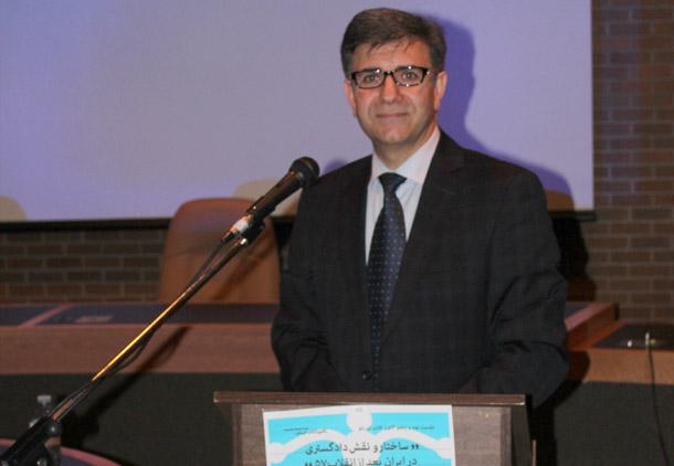 سخنرانی حسین رئیسی در کانون کتاب تورنتو: ساختار و نقش دادگستری در ایران پس از انقلاب