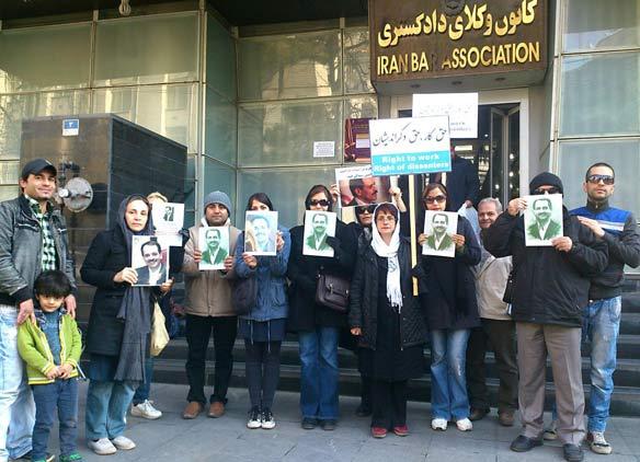 برخورد با تجمع هواداران محمدعلی طاهری و بازداشت یک تن