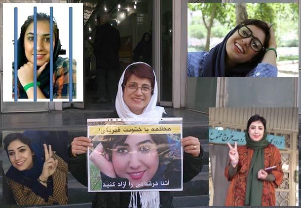 سلامت آتنا فرقدانی در پی ادامه اعتصاب غذا در خطر است