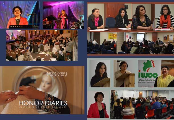 بزرگداشت روز جهانی زن در جامعه ایرانی تورنتو