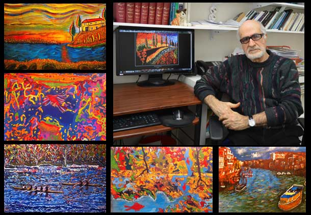 """یک ایرانی هنرمند، بنیانگذار """"گروه ۷ ارشدان""""/ فرح طاهری"""