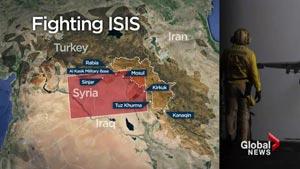مخالفت با تمدید و گسترش عملیات نظامی علیه داعش