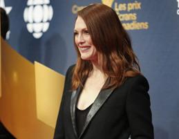 مور برای شرکت در مراسم اهدای جوایز سینمایی کانادا به تورنتو آمد