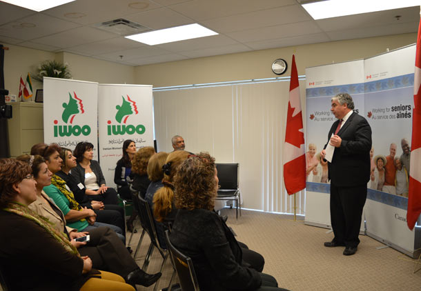 حمایت دولت کانادا از پروژه ی جدید سازمان زنان ایرانی انتاریو