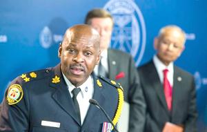 انتخاب مارک ساندرز، افسر با سابقه به ریاست پلیس انتاریو