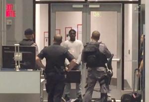 دستگیری یک جوان در فرودگاه تورنتو