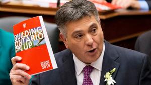 عرضه لایحه بودجه ۲۰۱۵ لیبرال ها به مجلس انتاریو