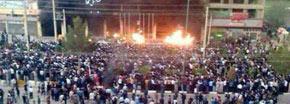 بازداشت حدود ١۵٠ تن از معترضان در مهاباد