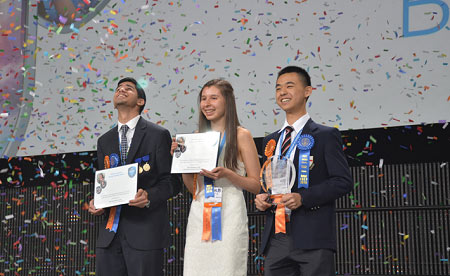 دانش آموزان کانادایی جوایز پر ارزش مسابقات علمی جهان  را بردند