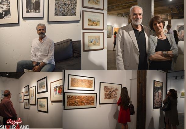 آرتا گالری میزبان نقاشی های آهو خردمند و محسن درخشان
