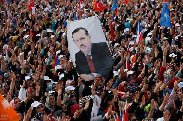 طرفداران اردوغان در انتخابات ترکیه