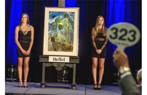 فروش اثر نقاش کانادایی به قیمت یک میلیون و ۵۵۳ هزار دلار
