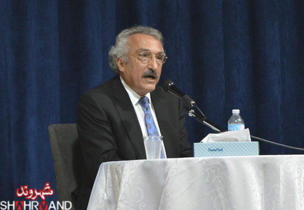 سخنرانی دکتر عباس میلانی درباره توافق هسته ای ایران/ فرح طاهری